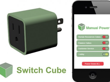Switch Cube Product Design, UX, Protoyping