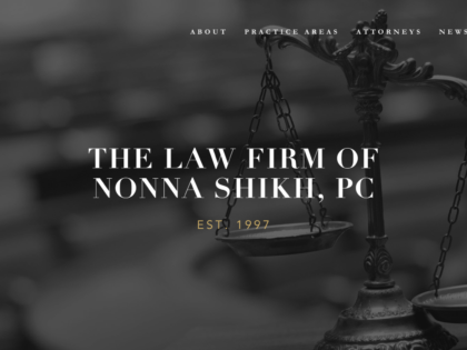 Shikh Law Branding, Creative Direction & Web Design/Print